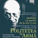 Politetea ca arma – conferinta la Carturesti