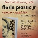 Lansare de carte – Florin Piersic jr.