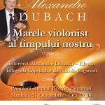 Concert caritabil Alexandre Dubach