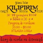 "Targul de carte, muzica si film ""Kilipirim""  – Galeria Dalles"