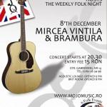 Concert Mircea Vintila si trupa Brambura