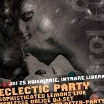 Concert Sophisticated Lemons si Noblesse Oblige DJ set