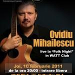 Concert Ovidiu Mihailescu