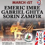 Concert folk Emeric Trio