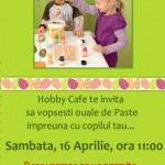 Atelier de pictat oua de Pasti, pentru copii