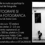 Curs de fotografie si estetica fotografica