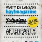 Party de lansare Hay Magazine