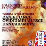 Concert folk in Club Mojo