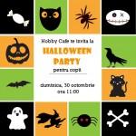 Halloween Party pentru copii la Hobby Cafe