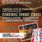 Emeric Imre Trio in Mojo