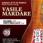 Vasile Mardare lanseaza noul album in Mojo