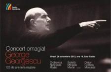 Concert in memoriam George Georgescu