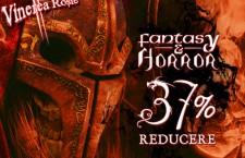 Carti Fantasy si Horror cu 37% reducere