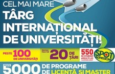 In week-end are loc cel mai mare targ international de universitati