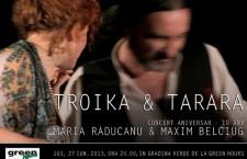 Concert Maria Raducanu si Maxim Belciug: 10 ani de TROIKA si TARARA