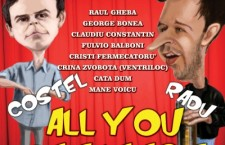 """All You Can Laugh"" – in fiecare joi, la Bordello"