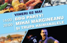 2 mai la Marttinez beach – Barbeque party si concert Mihai Margineanu si Haimanalele