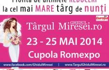 Targul de Nunti Ghidul Miresei 23-25 Mai: cadouri de peste 200.000 de euro