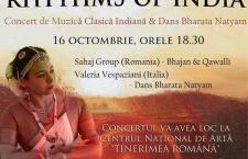 Sahaj Group – Concert de muzica clasica Indiana si dans Bharata Natyam