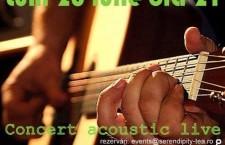 Ovidiu Scridon – concert acoustic live la Serendipity Tea