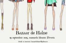 """""""Bazaar de Haine"""" – a 2-a ediție, pe 19 septembrie în București"""
