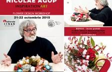 Celebrul florist Nicolae Agop pentru 3 zile in România