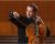 Violoncelistul Răzvan Suma cântă la Castelul Murten din Elveţia