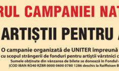 """""""O noapte furtunoasă"""" – producție a Teatrului Arte dell'Anima – în cadrul campaniei UNITER """"Artiștii pentru Artiști"""""""