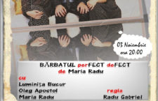 """Bărbatul perfect defect""- Regia Radu Gabriel"