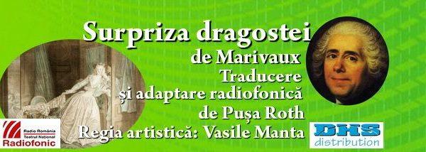 """""""Surpriza dragostei"""" de Marivaux, în premieră la Teatrul Național Radiofonic"""